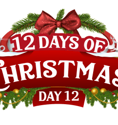 12 day of christma clipart [ 1655 x 991 Pixel ]