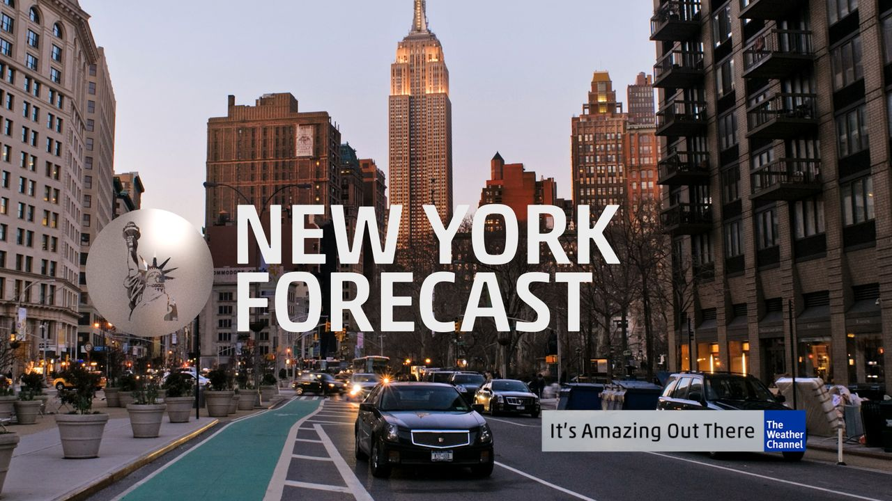 weather channel 10 day forecast new york