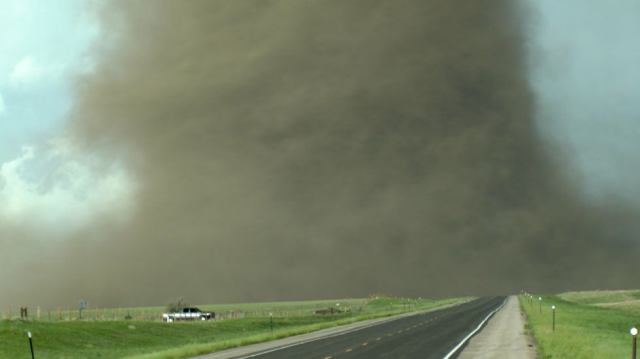 Stunning Massive Tornado Touches Down Near Laramie Wyoming The Weather Channel