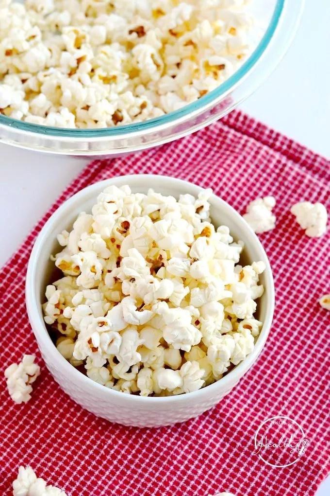 diy microwave popcorn
