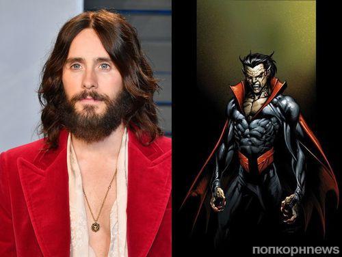 Джаред Лето сыграет главную роль в спин-оффе Человека-паука о вампире Морбиусе
