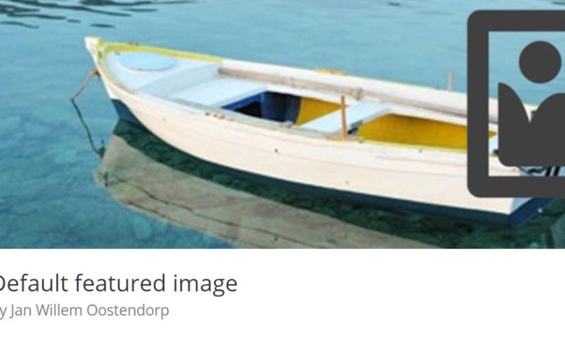 WordPress 預設特色圖片插件,輕量、好用、無付費費版本