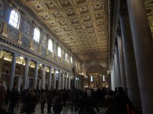 Inside St Mary Major