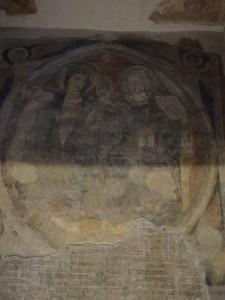 Old Pantheon fresco