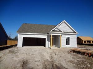 New house has siding