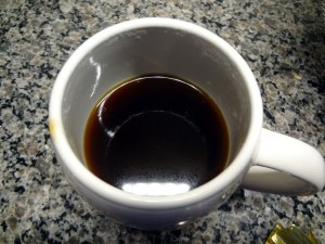 Brewed coffee