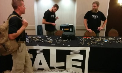 LockFALE showing people how to pick locks