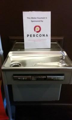 Percona was a big sponsor