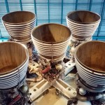 Saturn V stage 2 engines