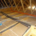 Garage pre-insulation