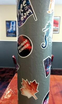 Nimbo Pizza sticker pole