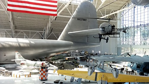 Spruce Goose tail section