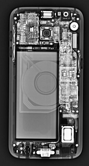 Galaxy S7 x-ray