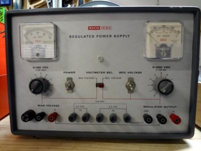 EICO 1030 power supply