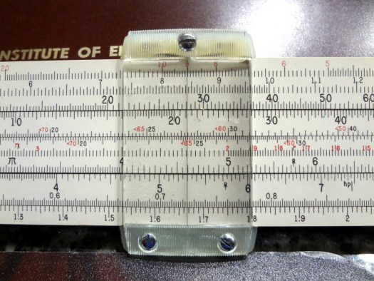 Pickett N-515-T Cleveland Institute of Electronics Electronics slide rule