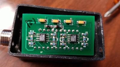 40x5-W circuit board