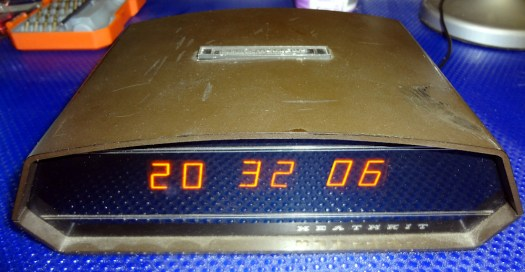 Heathkit GC-1092A digital clock