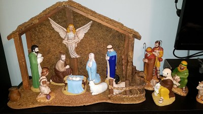 Christmas nativity scene 2020