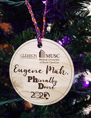 PhD ornament