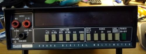 Fluke 8000A digital multimeter