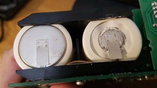 Leaky NiCad batteries