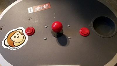 Buttons added to the lap joystick