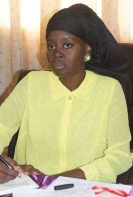 Lika Scott// Présidente WIM Sénégal