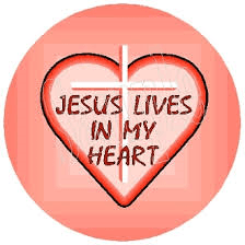 Image result for image jesus lives in my heart