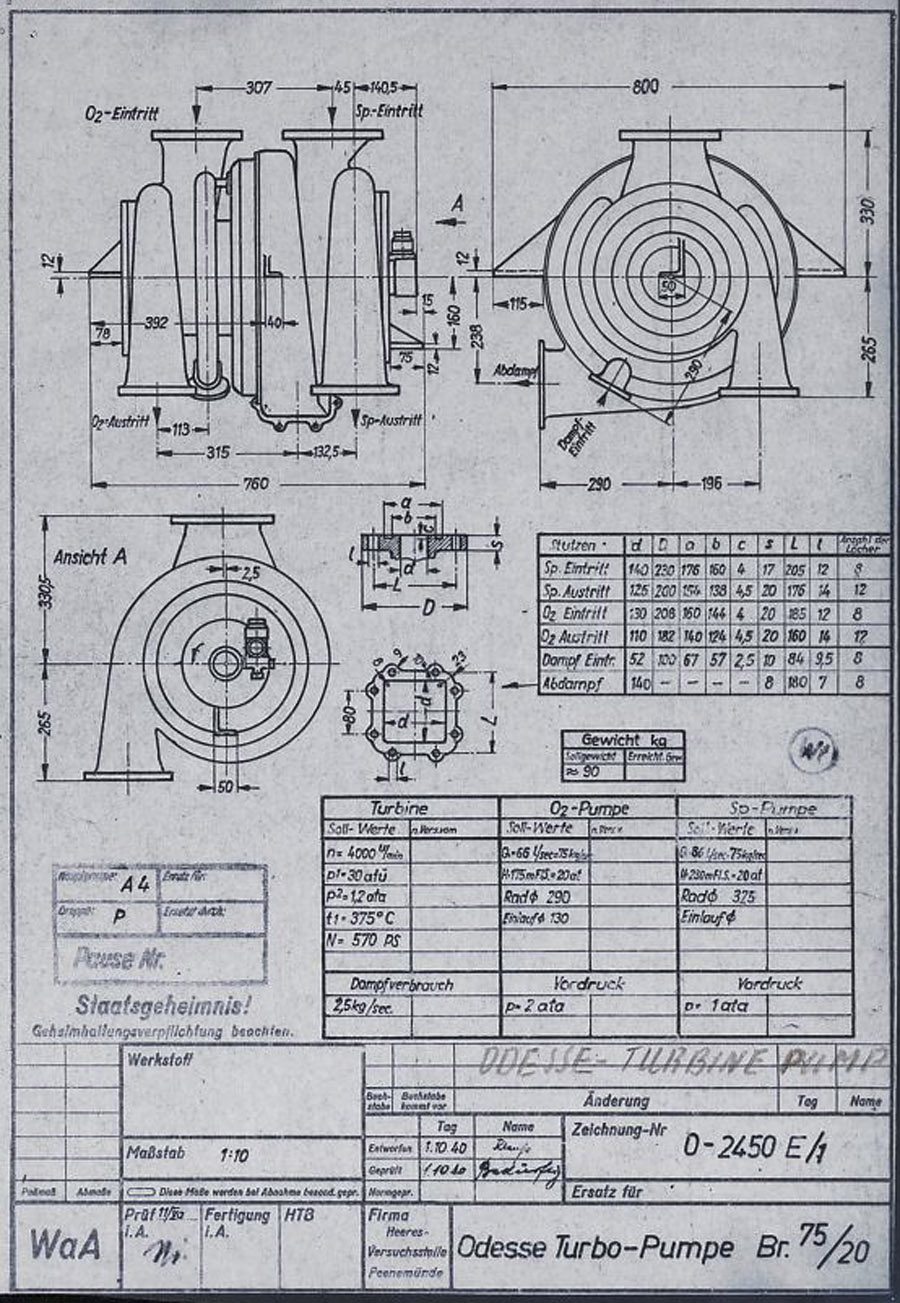 hight resolution of  rocket history 0 oddesse turbo pumpe br 75 20