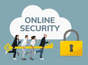people holding the key to online security - Small Business IT Security Basics, Part 2: Investing in Cybersecurity