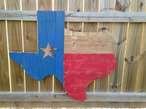wooden model of Texas - What Happens in Texas ... Probably Won't Stay There