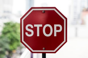 stop sign - Seriously, Please Stop Using Internet Explorer