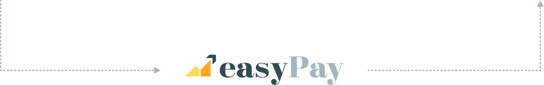 Arrow Path with EasyPay Logo