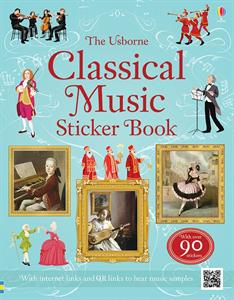 Classical Music Sticker Book ~ intro to composers, orchestra, and classical music