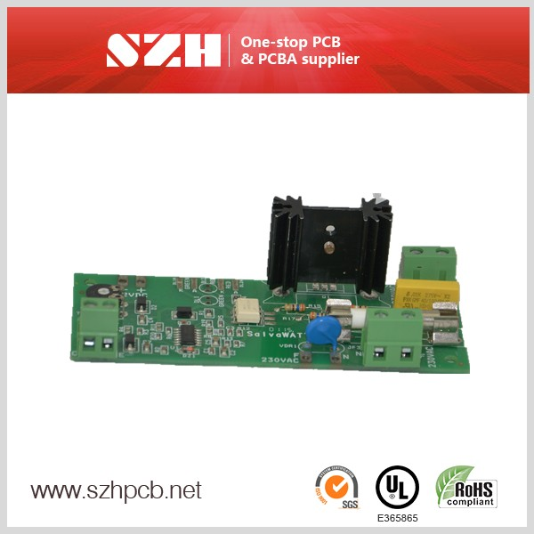 Gold Single Sided Pcb 2 Layer Printed Circuit Board Manufacturing