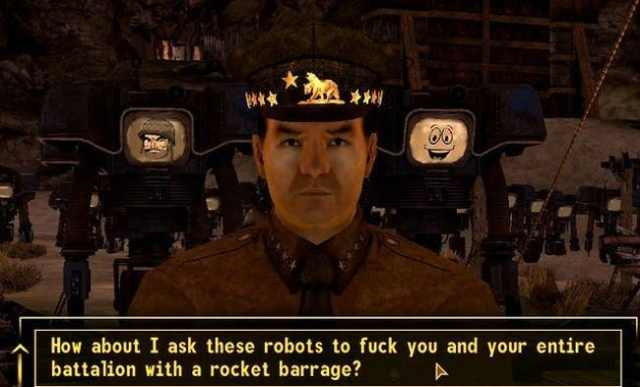 Enhanced NPC Interaction... is listed (or ranked) 3 on the list 13 Reasons Why 'Fallout: New Vegas' Blows 'Fallout 3' Out of the Water
