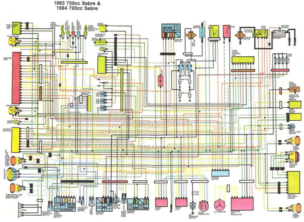 medium resolution of honda gl1200 wiring diagram wiring diagram centre honda gl1200 motorcycle wiring diagrams