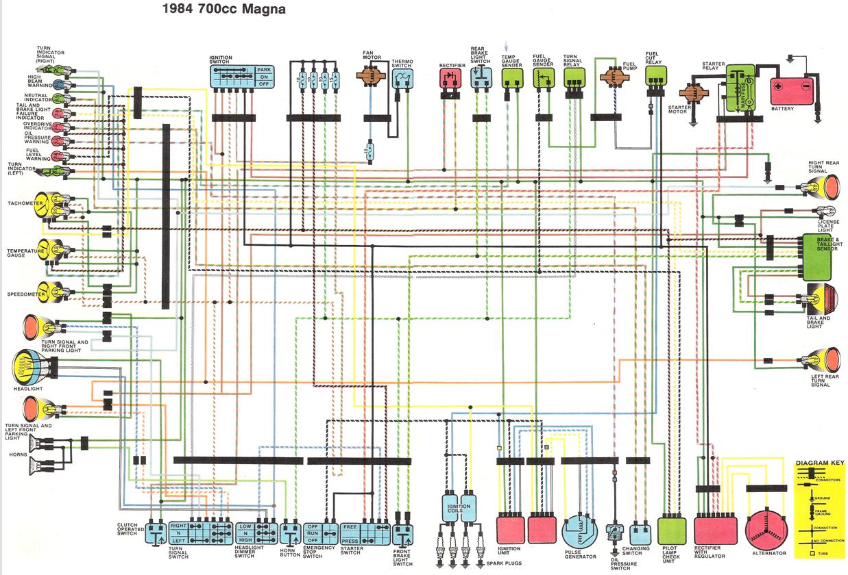 Honda Magna Wiring - Wiring Diagram Online