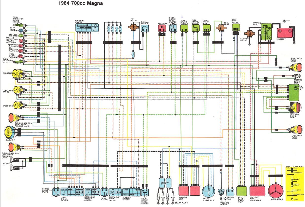 1984 Honda Vt500c Wiring Headlight - Schema Wiring Diagram on