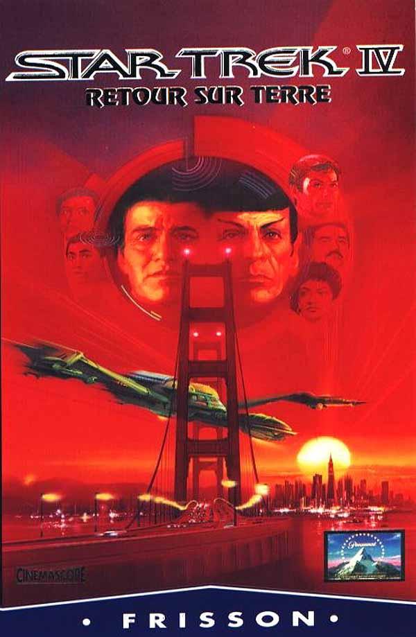 Star Trek 4 : Retour Sur Terre : retour, terre, Voyage