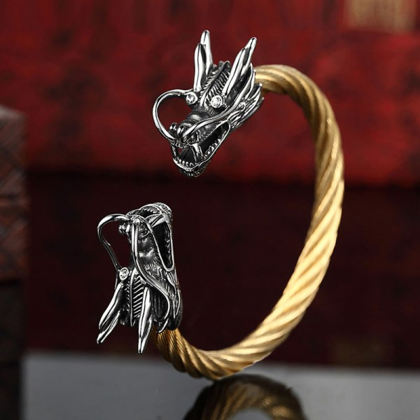 Vikings Dragon Bracelet