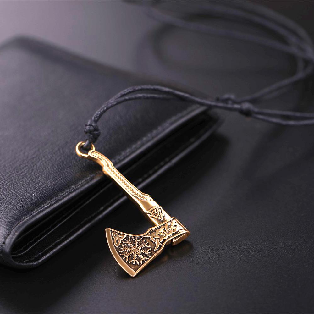 Vikings axe pendant necklace v7 aloadofball Choice Image