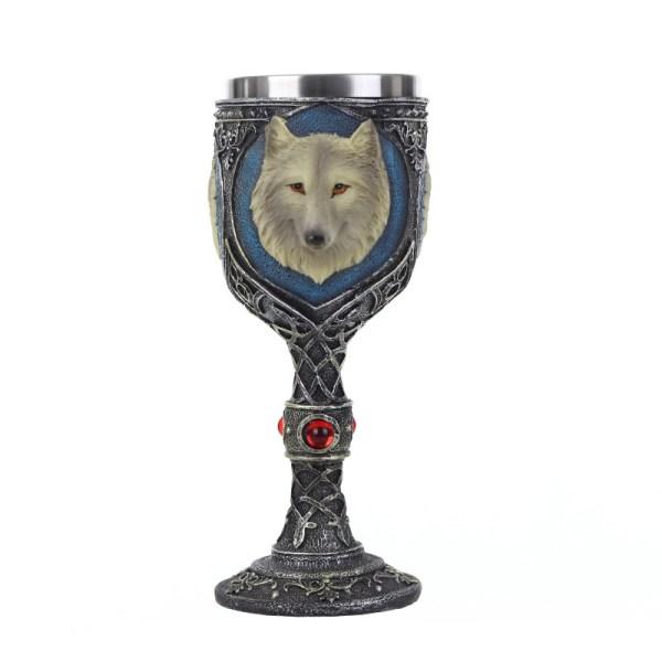 Ghost - Jon Snow's Direwolf Wine Glass