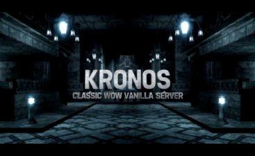 Kronos 1 & 2 Merging into a single Realm