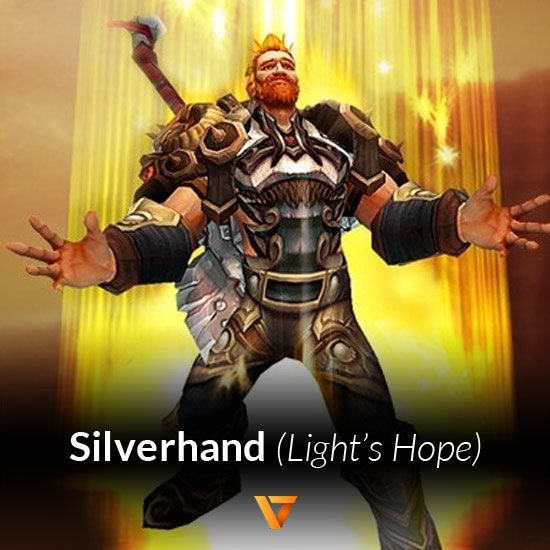 Powerleveling for Silver Hand Lights Hope