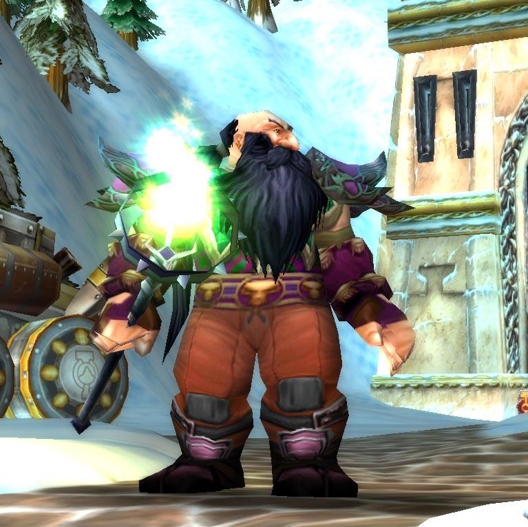 Dwarf Male Priest Level 60 Northdale Lights Hope Classic Wow