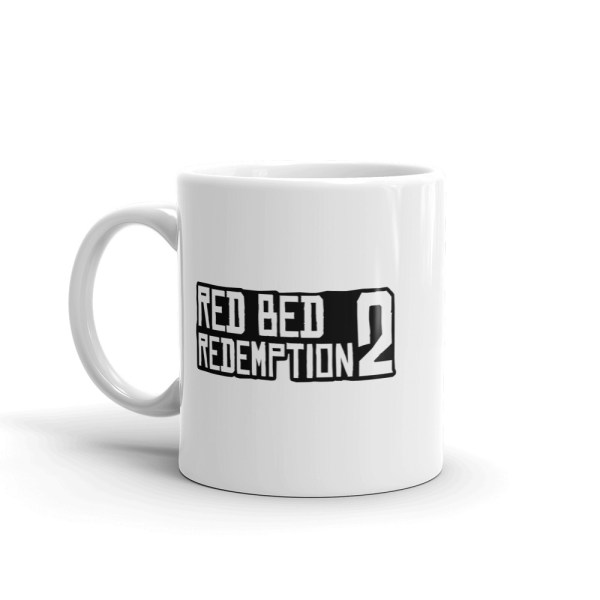 Red Bed Redemption 2 Coffee Mug 11oz
