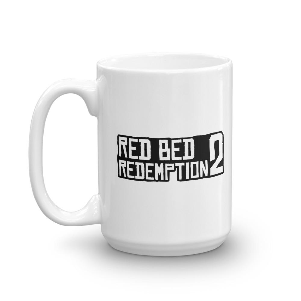 Red Bed Redemption 2 Coffee Mug 15oz