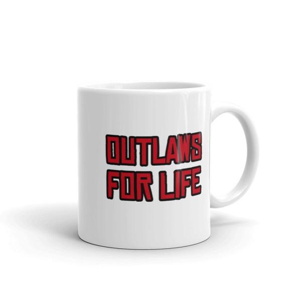 RDR2 Outlaws For Life Coffee Mug 11oz