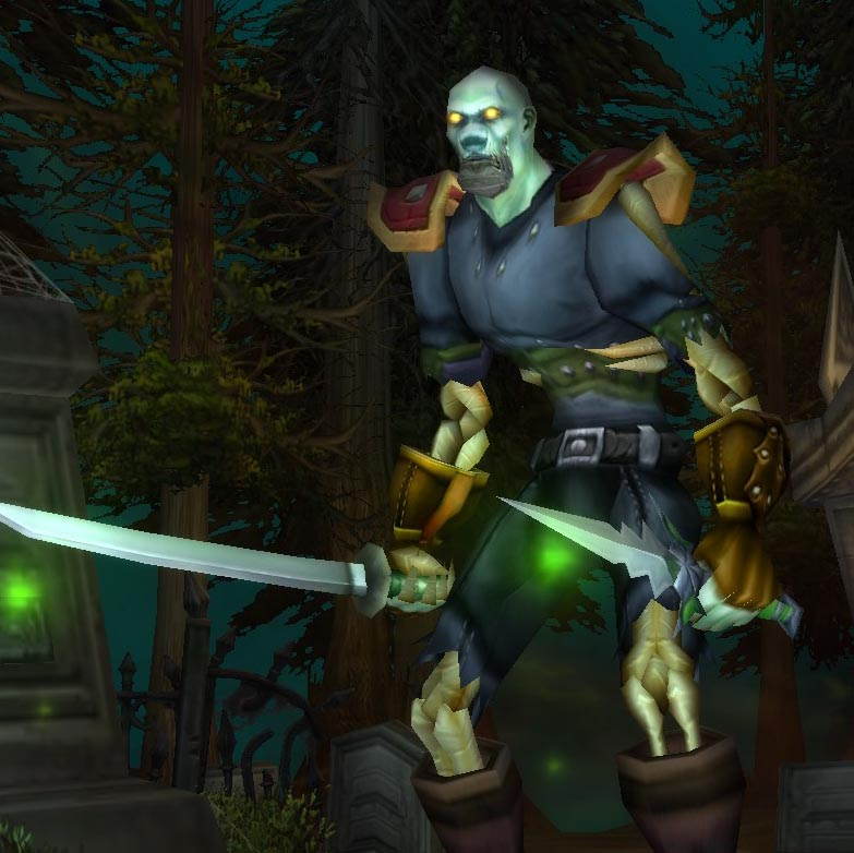 Undead Rogue (male) Level 48 – Netherwing TBC - Atlantiss - V7